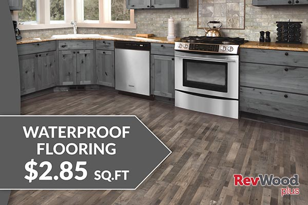 Flooring sale going on now! Waterproof flooring starting at $2.85 sq.ft. – Only at Floor Express Abbey Carpet in Tumwater, Washington