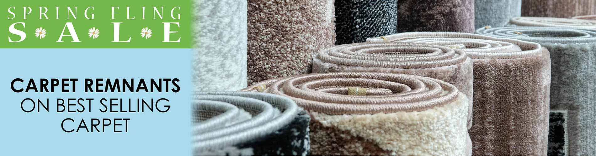 Save on Carpet Remnants during our Spring Fling Sale at Floor Express in Tumwater, WA