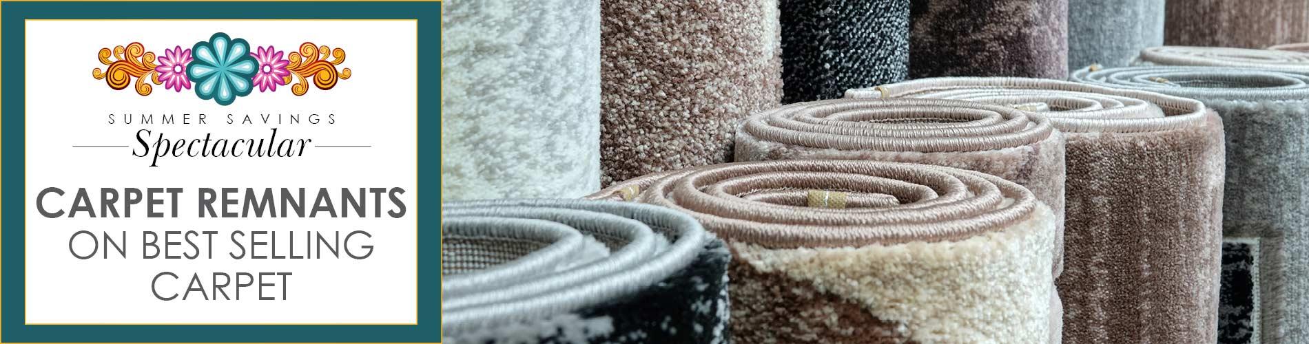 Carpet remnants on best selling carpet